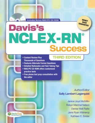 Davis's NCLEX-RN Success By Lagerquist, Sally L., Rn